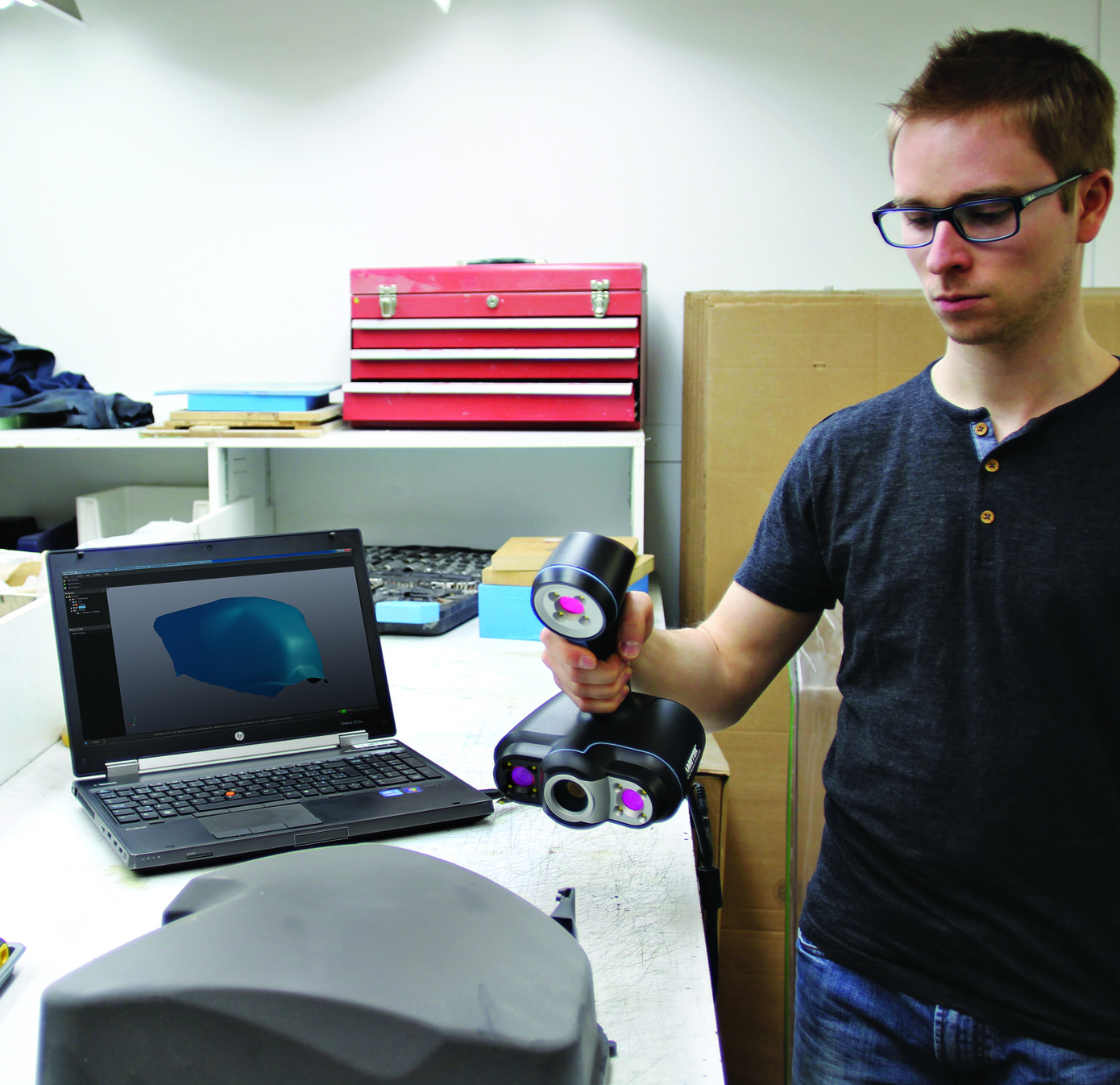 The Go!SCAN 3D™ product line offers our easiest portable 3D scanning experience, providing fast and reliable measurement