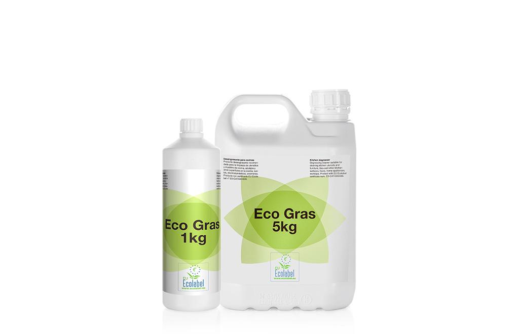 Eco Gras, desengrasante para cocinas ecológico.