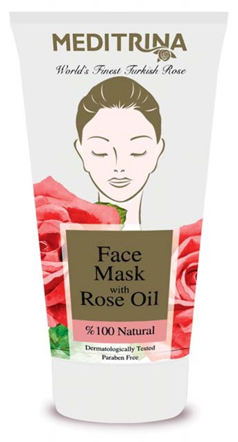 Face Mask with Rose Oil