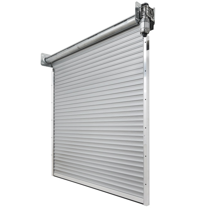 Les rideaux à lame et les grilles à enroulement DD Hörmann ont été conçues pour les baies jusqu'à 12 mètres de large ou