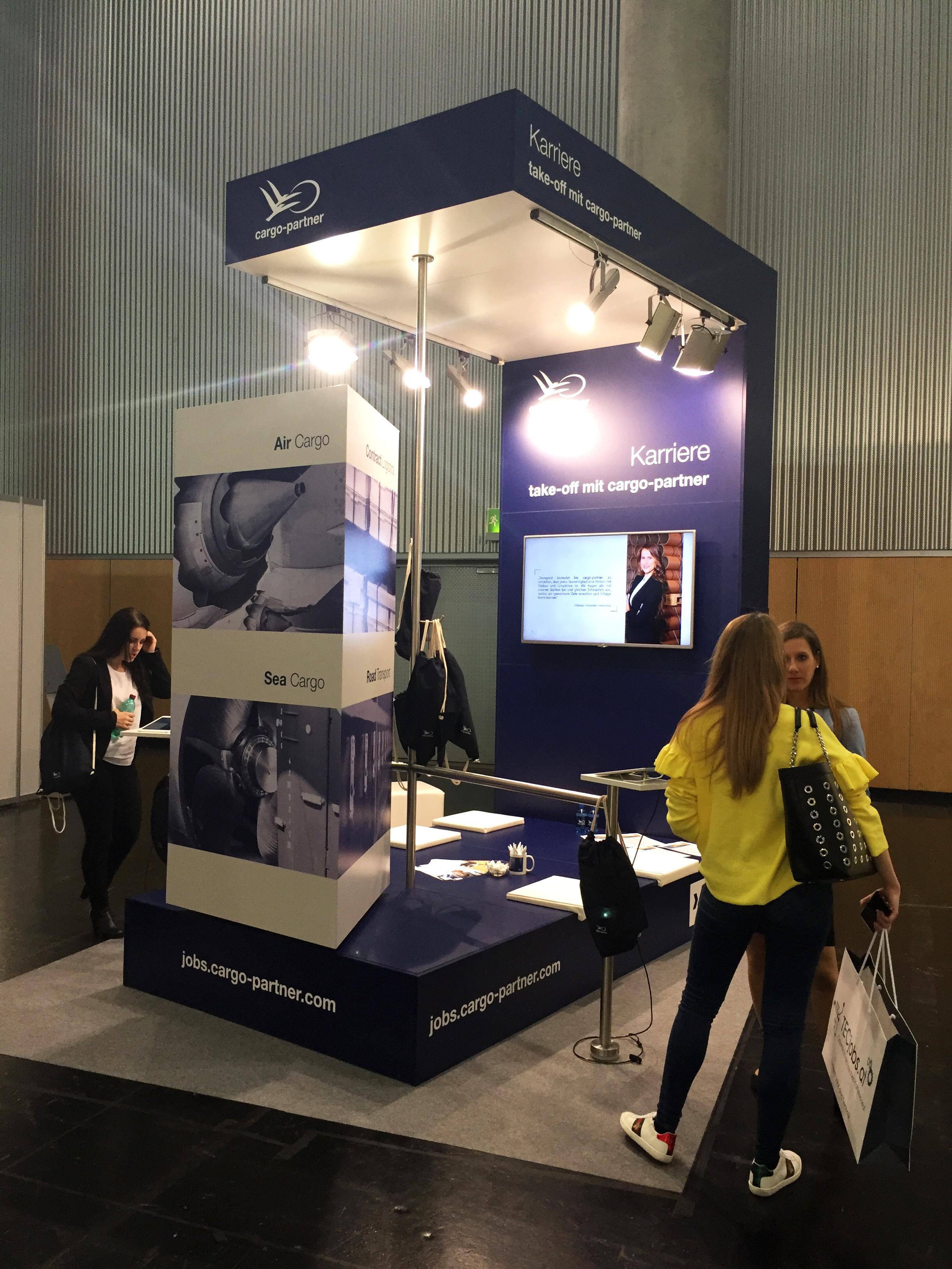 cargo-partner na největším rakouském veletrhu pracovních příležitostí
