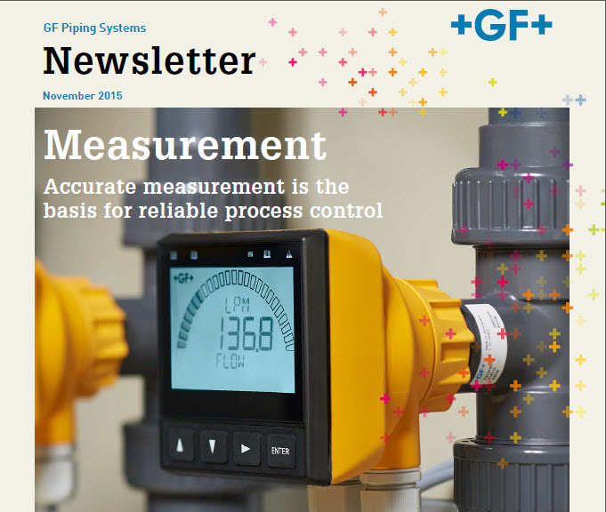 Measurement - Accurate measurement is the basis for reliable process control - November 2015