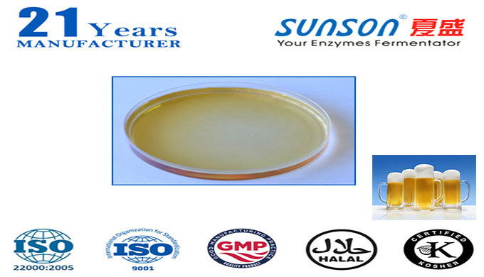 Introduction Sunson® PRA100L is an acid protease made from Aspergillus niger through cultivation and extraction techniqu