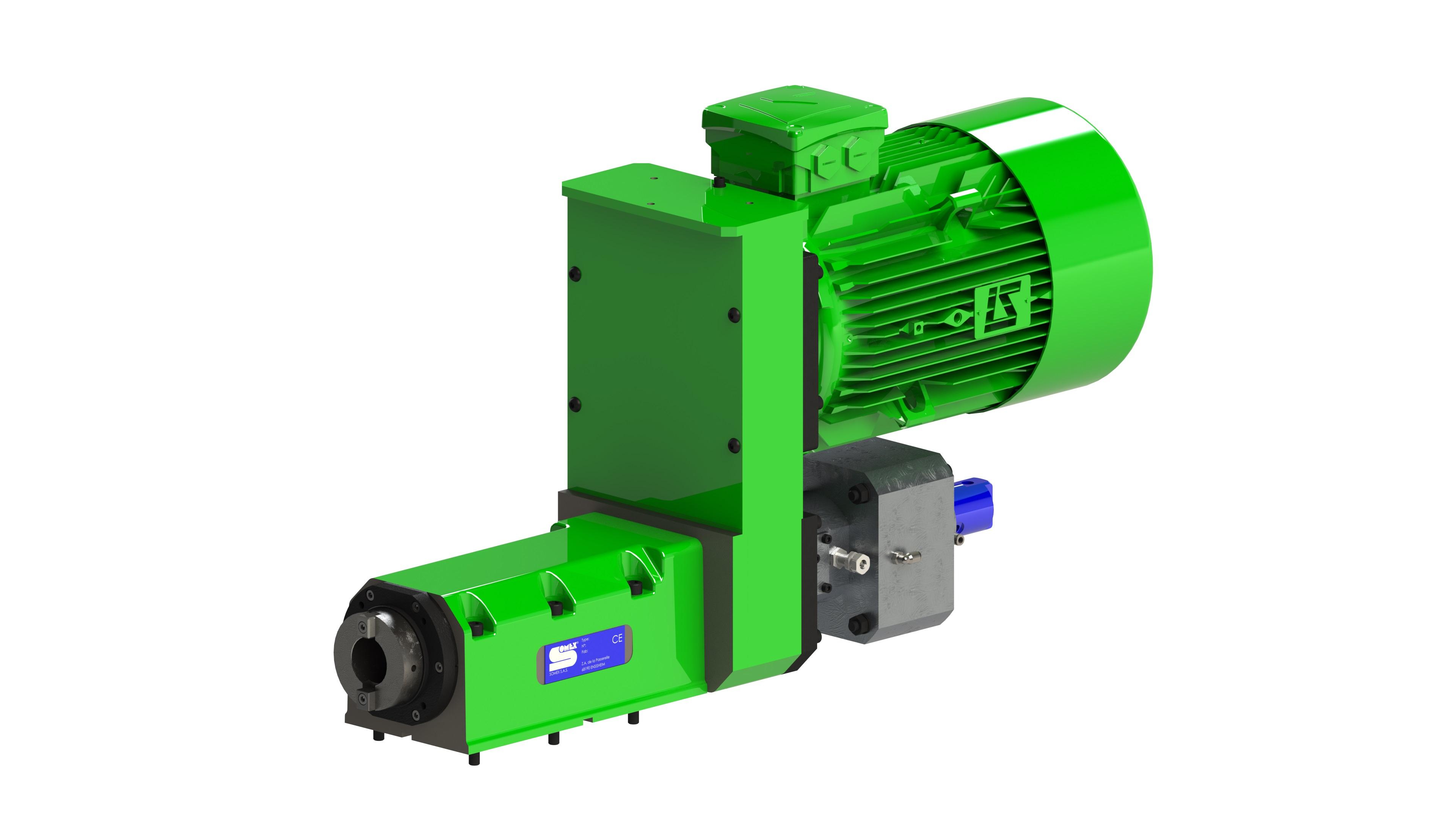MAX40R CO - Broche d'usinage avec changeur d'outils automatique