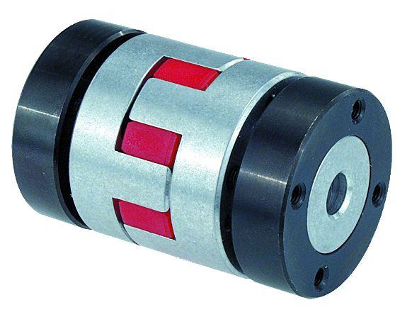 Werkstoff: Kupplungsstern Polyurethan mit Shorehärte 98-A. Nabe Aluminium. Konusring Vergütungsstahl. Hinweis: Diese Kup