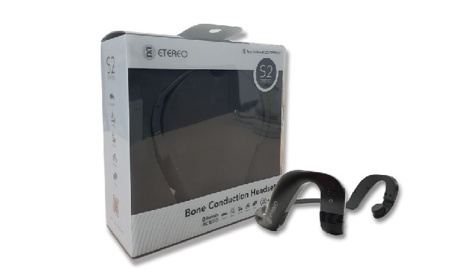 Bone conduction Bluetooth headset with open ear Music listening / phone call / learning foreign languages / radio water
