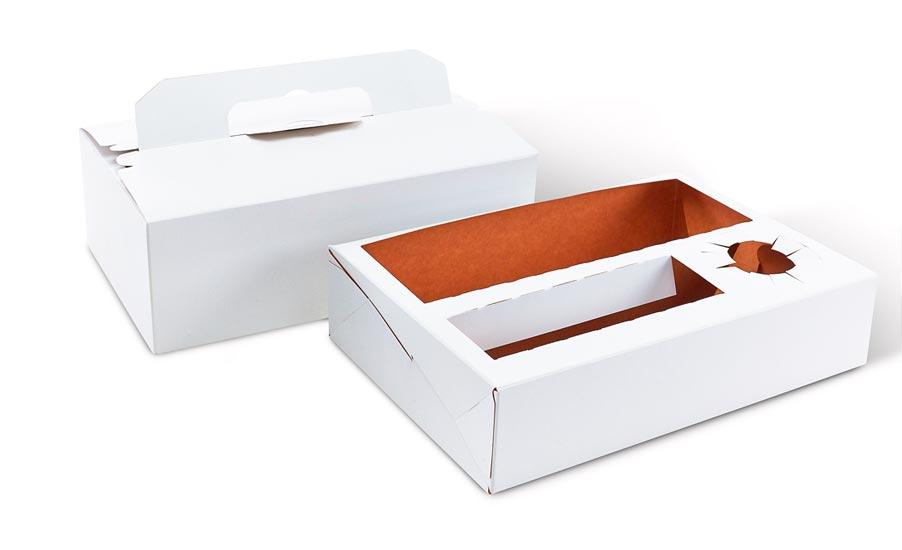 Dessa förpackningar lämpar sig specifikt för att packa livsmedel.