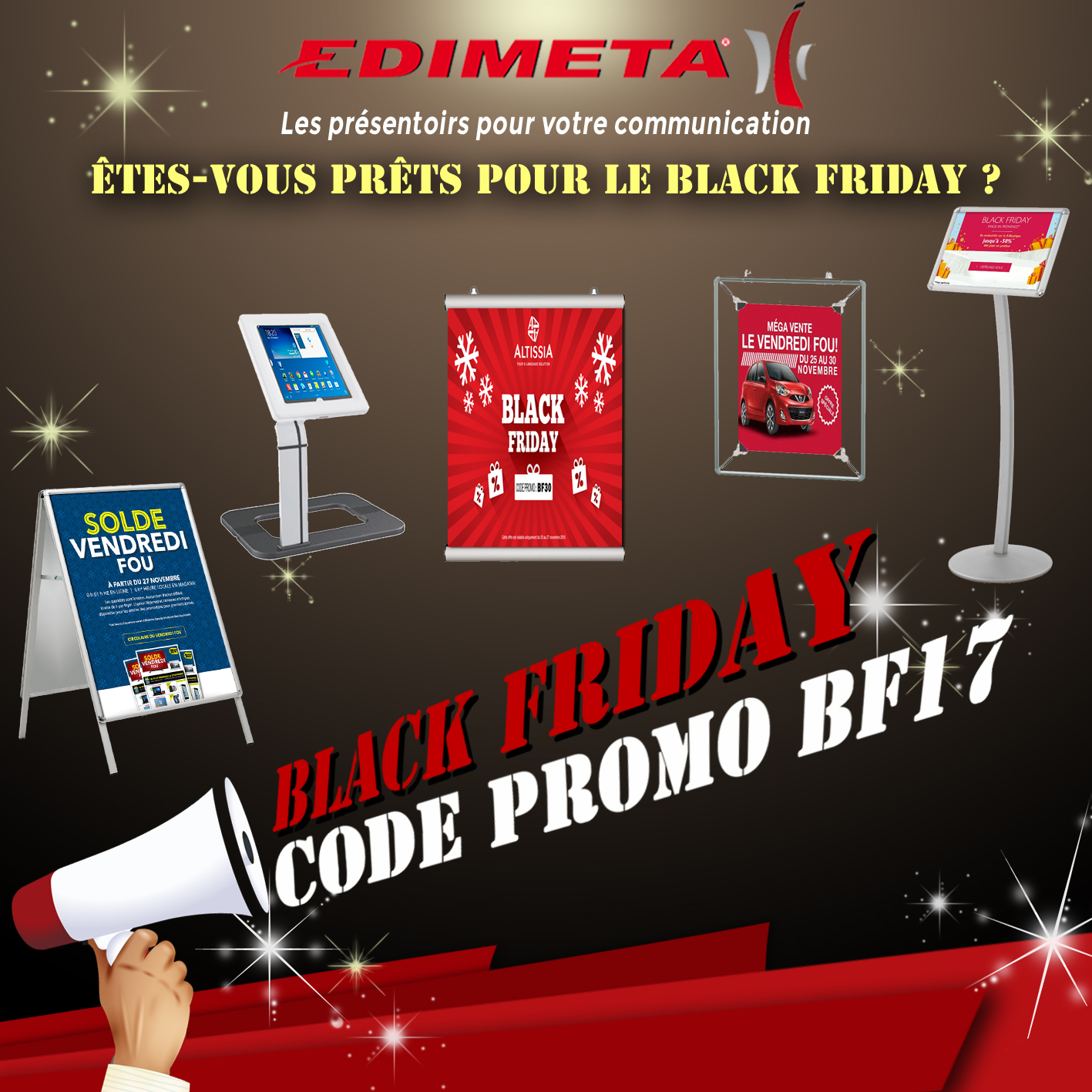ALERTE BLACK FRIDAY WEEK !