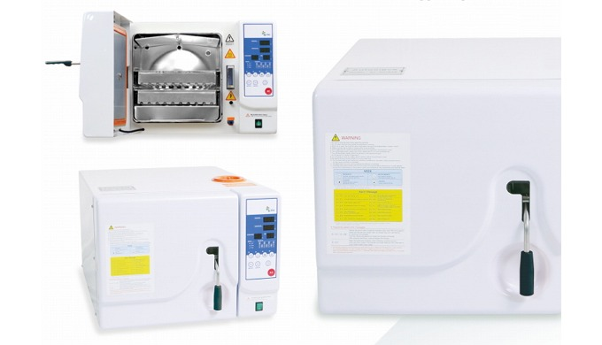 High-precision electronic control mechanism & self test system. Efficient sterilization followed by pulsed air removal