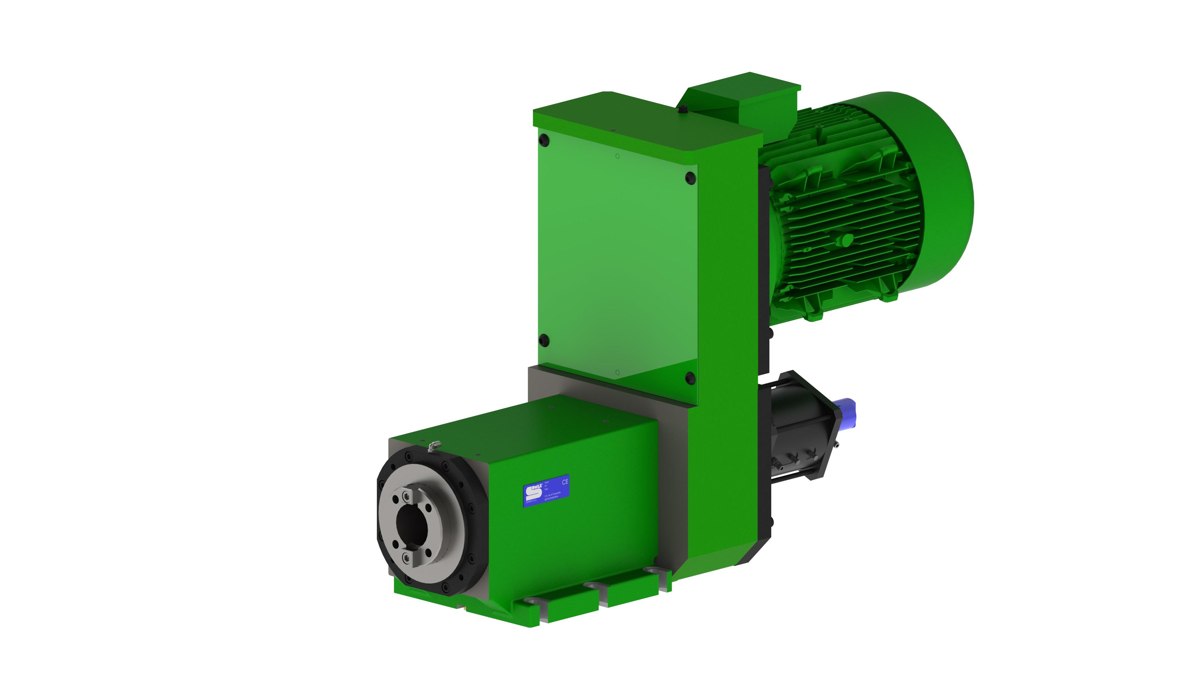 MAX200 CO - Broche d'usinage avec changeur d'outils automatique