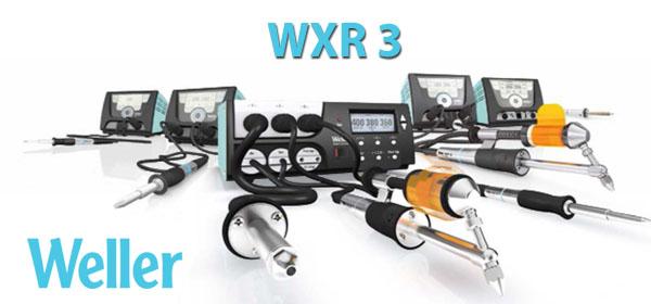 Cepelec vous propose la nouvelle station de réparation WXR 3 de la marque Weller. Il peut tout faire, très bien. Station