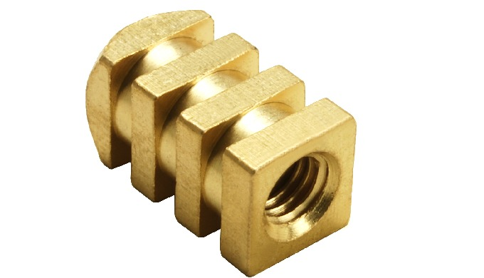 Brass Moulding Square Inserts