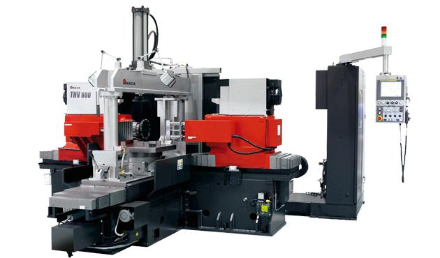 Amada THV800 double headed milling machine