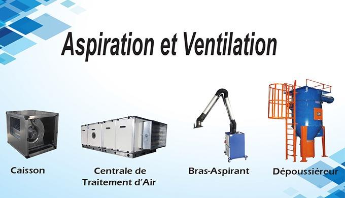 Aspiration et ventilation