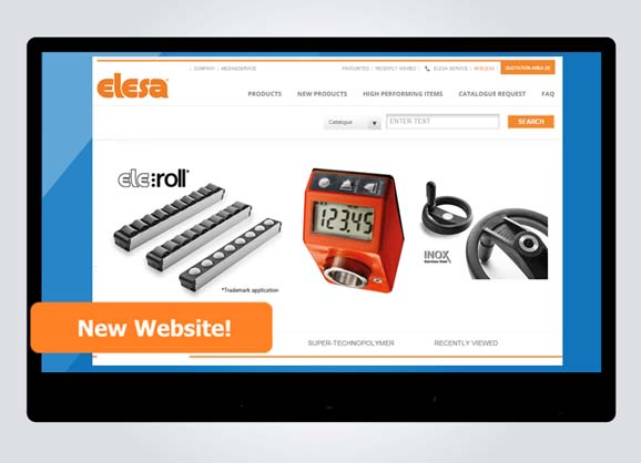 New Elesa website makes life easier for manufacturers