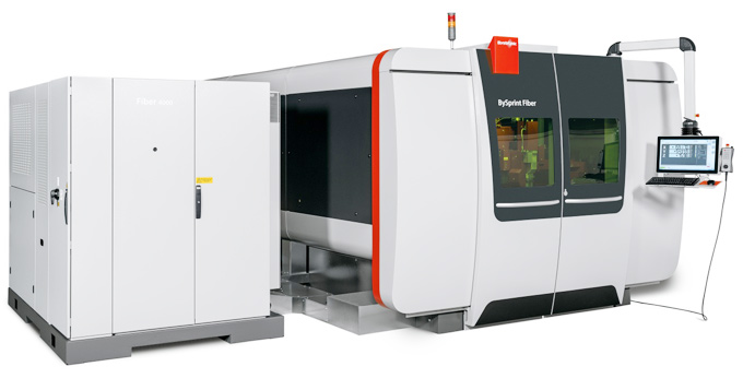 One fiber laser, all options Available in models 3015, 4020, 6520, 8020 and 12020. This means that sheet metal up to 12