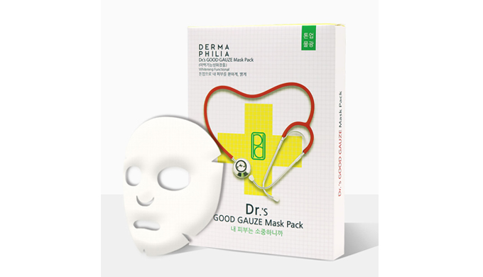 DERMAPHILIA Dr's GOOD GAUZE Mask Pack