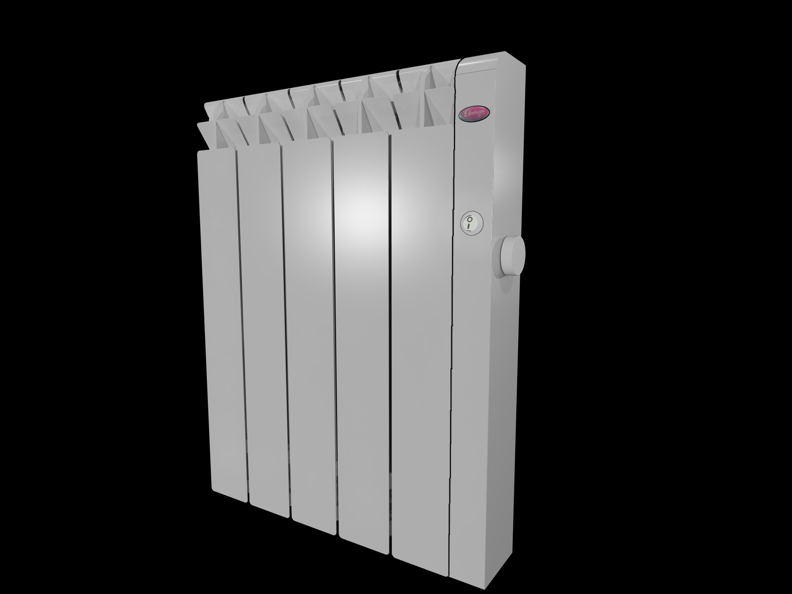 New Range of Aluminium Radiators with an Electric Heating Element