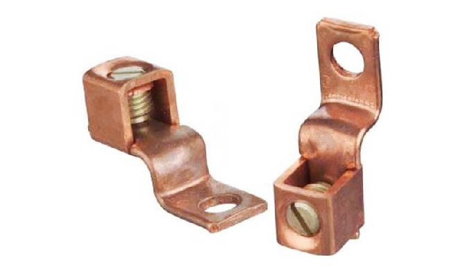 Copper offset Terminal Lug