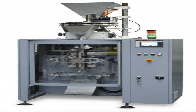 Vertical continual packaging machine