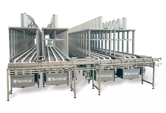 Prensa para multimoldes con funcionamiento programable de los parámetros de carga, descarga y ciclos de prensado. El pre