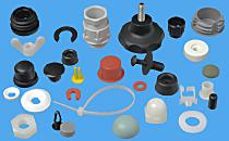 Hier finden Sie eine große Auswahl an Kunststoffteilen. Neben den hier gezeigten Typen erhalten Sie auch zahlreiche weit