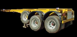 Véhicules conçus pour le transport de conteneur ISO de 20''. La norme ISO fixe la masse brute maximale du conteneur 20''