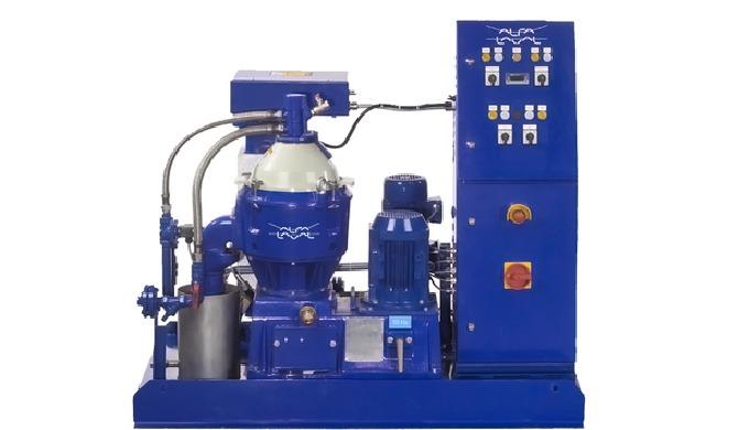 Le module de nettoyage à l'huile Alfa Laval (OCM) assure une séparation rapide et efficace des composants de l'huile, de