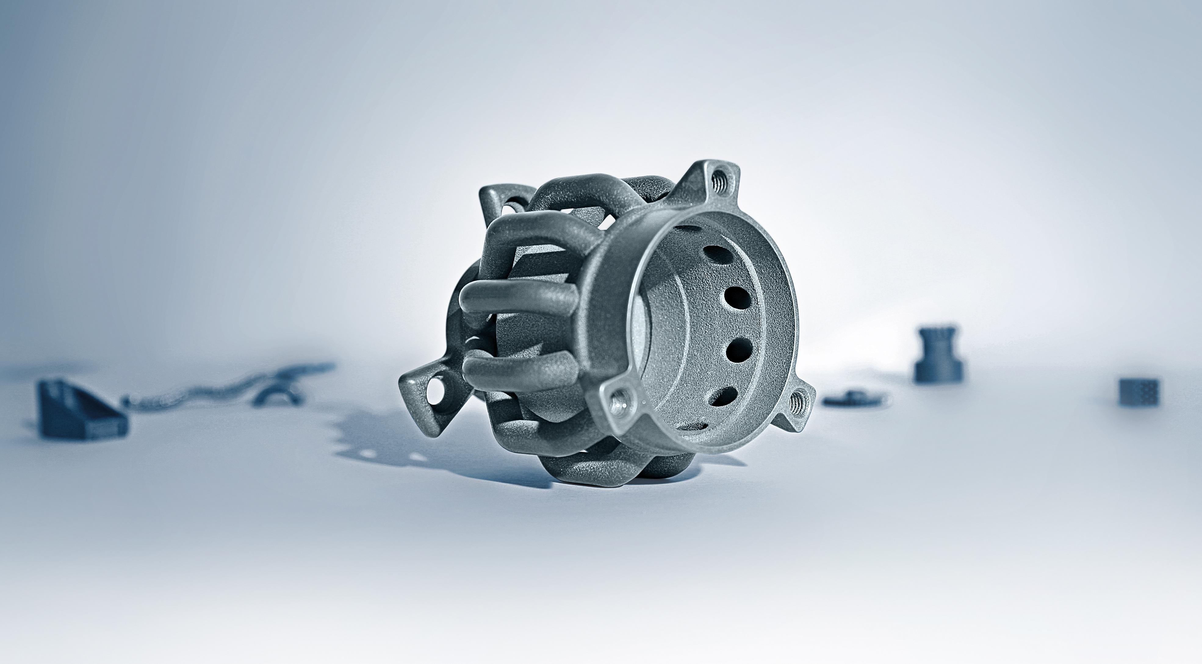 3D-metal printing - selective laser melting
