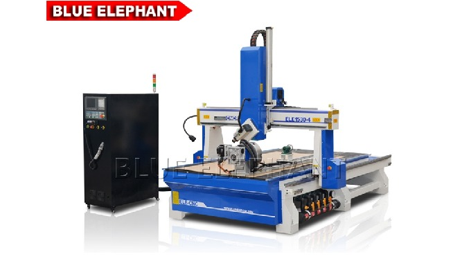 ELECNC-1530 4 Axis 3D Wood Sculpture Machine