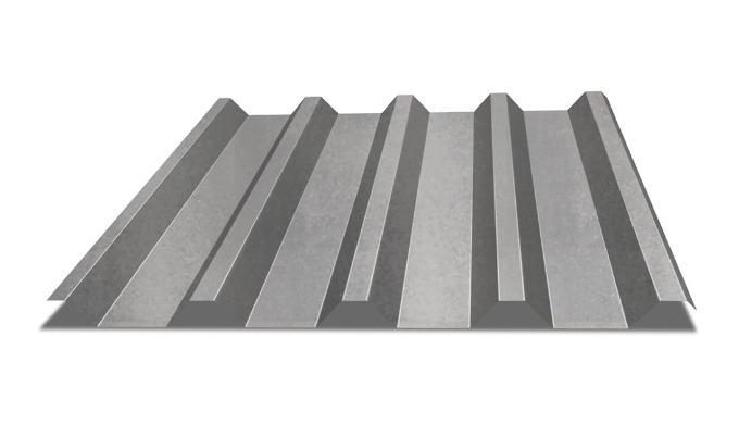 Blacha trapezowa - Hornval - T55. Idealna do krycia dachów małej architektury, obiektów przemysłowych, obiektów gospodar