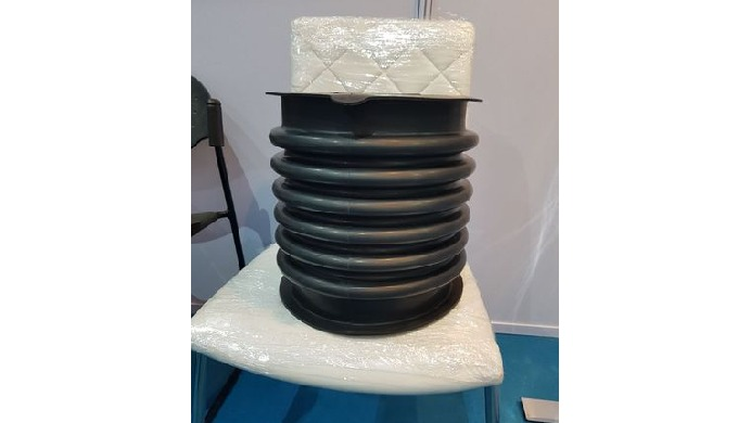 We are leading manufacturer & exporter of Rubber Bellows in all type of rubbers like Silicone, Neoprene, Nitrile, EPDM,