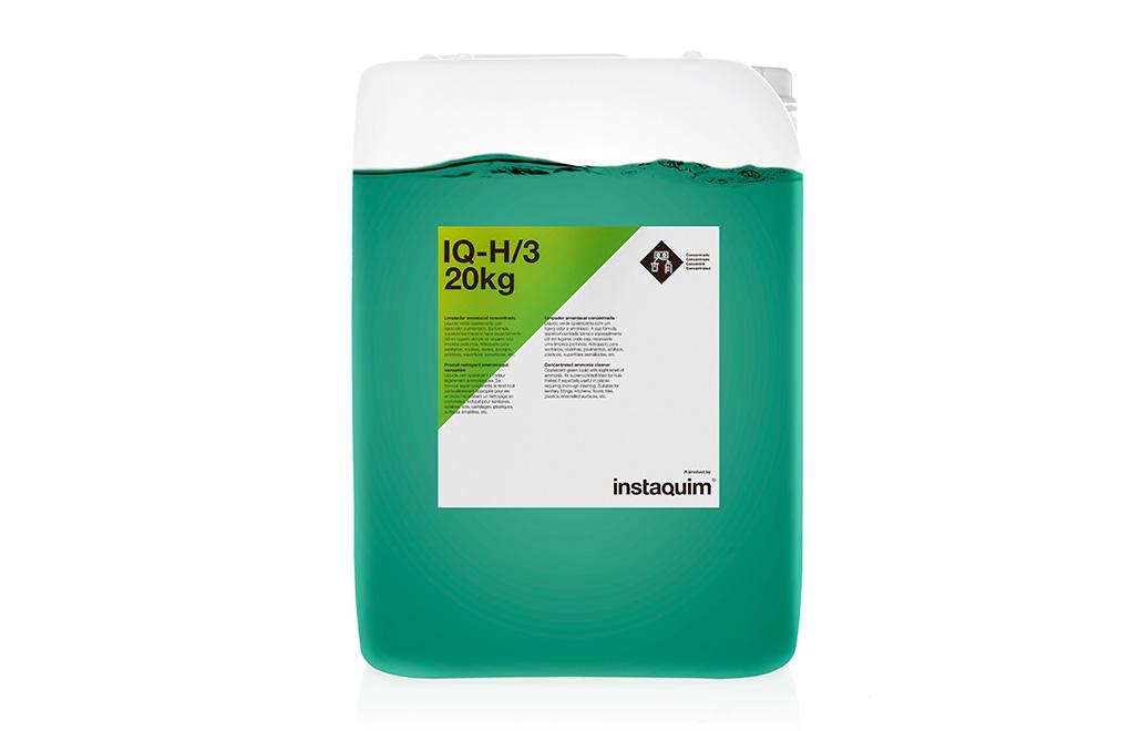 IQ-H/3, limpiador amoniacal concetrado.