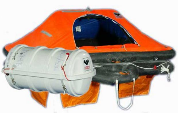 VIKING THROW OVERBOARD LIFERAFT