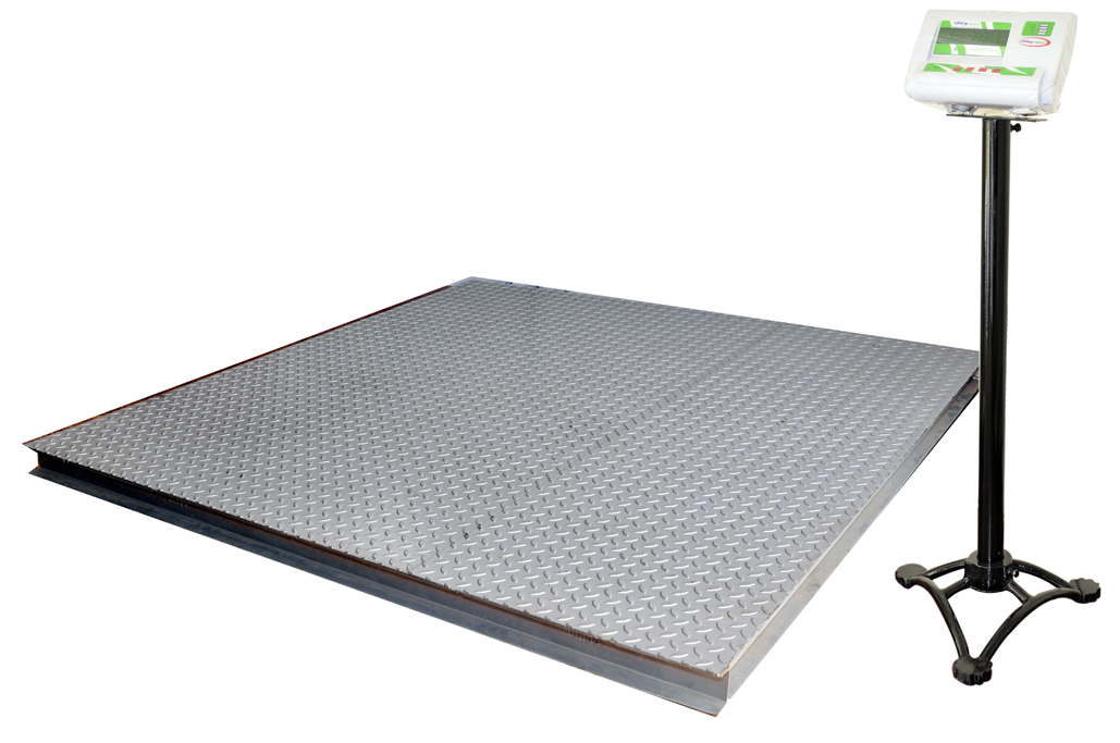 Heavy capacity industrial floor weighing scales upto 5 ton for Scale floor