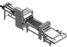 La H2O Génesis es una línea automática básica de producción para panadería con la que se consigue una buena calidad de p