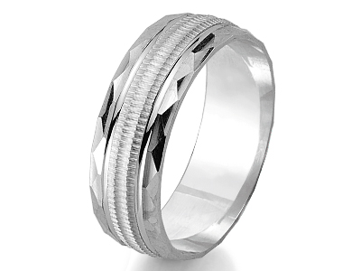 Silver 925 Wedding Rings & Bands