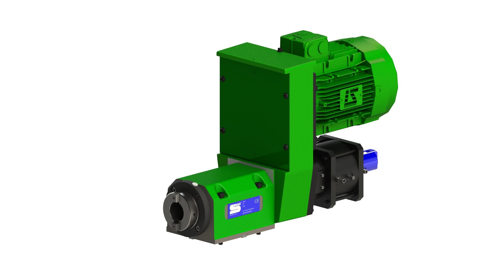 MAX40 CO - Broche d'usinage avec changeur d'outils automatique