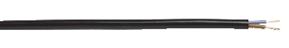 Lätt anslutningsledning med isolering och mantel av PVC enligt SS 424 02 31-5 S3.
