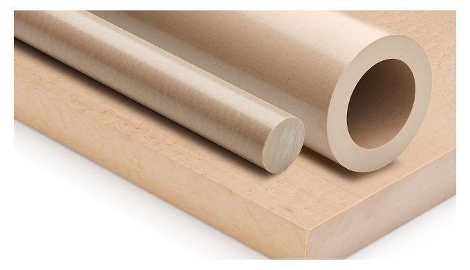 Polyetheretherketon (PEEK) – TECAPEEK natural je vysokovýkonný, vysokoteplotní, semikrystalický termoplast vyráběný spol