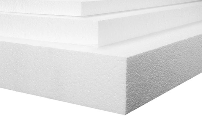 Plaque et bloc polystyrène expansé