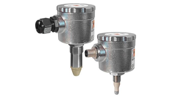 Auch für nicht leitfähige Flüssigkeiten Messung trotz Schaum und Anhaftungen Anschluss: G &frac12&#x3b;, M12 x 1,5, hygienege