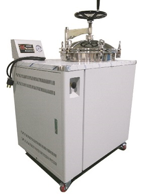 Fully Automated Vertical Steam Sterilizer Automated Cycle Sterilization * Pre-Vacuum → Filling Water → Heating → Steril