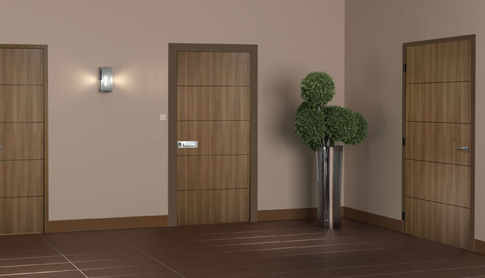 Portes bois palières EI30 et acoustiques