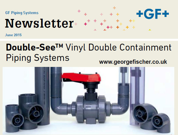 Double-See™ Vinyl Double Containment Piping Systems - June 2015