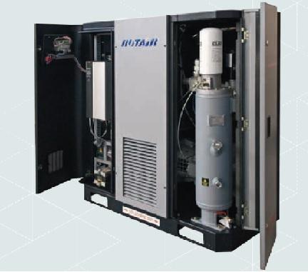 COMPRESOR ROTAIR Un eficaz y sobredimensionado sistema de refrigeración, garantizado la correcta operatividad del compre