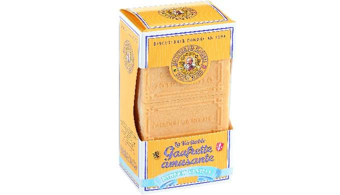 Descriptif Etuigarni de 15 gaufrettes amusantes. Ingrédients Sucre, farine de blé, matières grasses végétales non hydrog