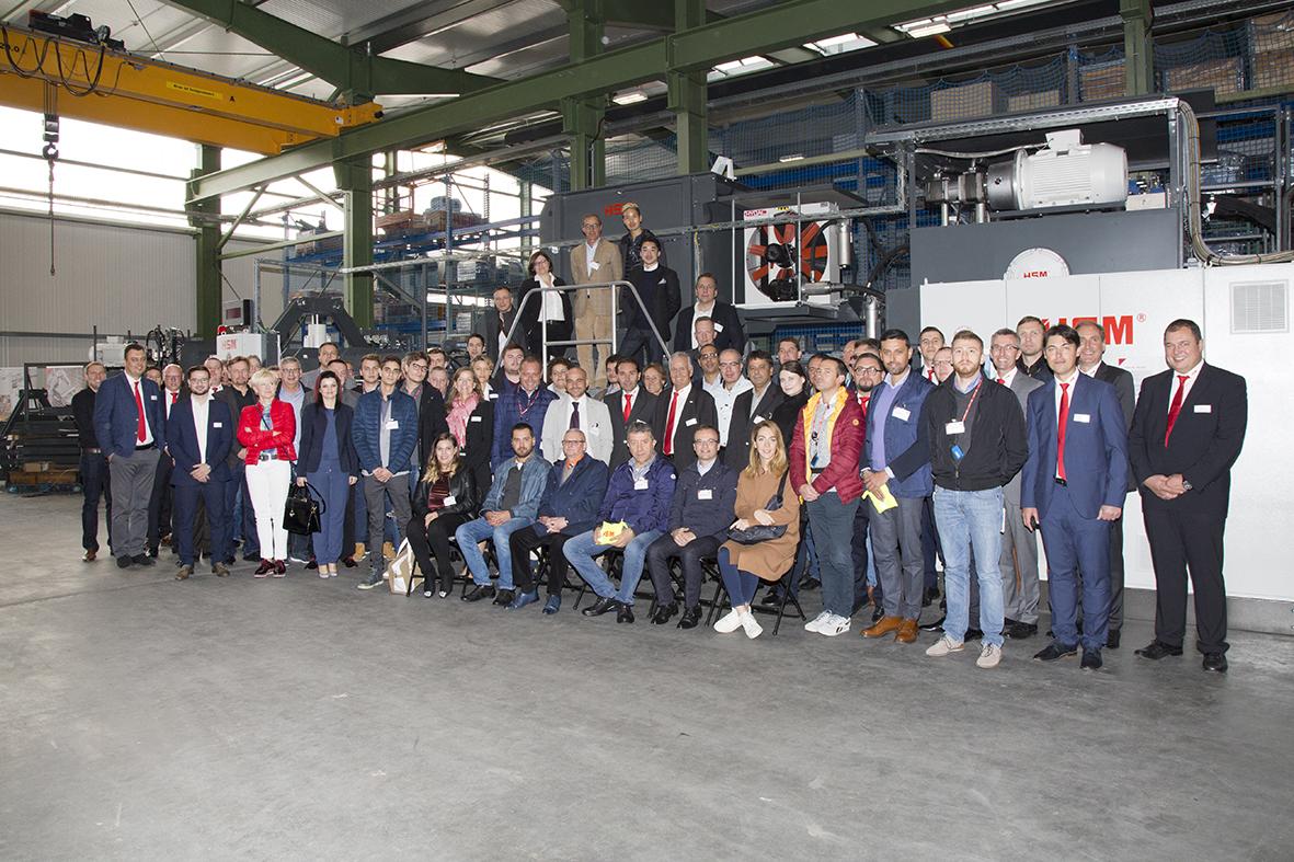 Umwelttechnik Kundentage bei HSM am Bodensee