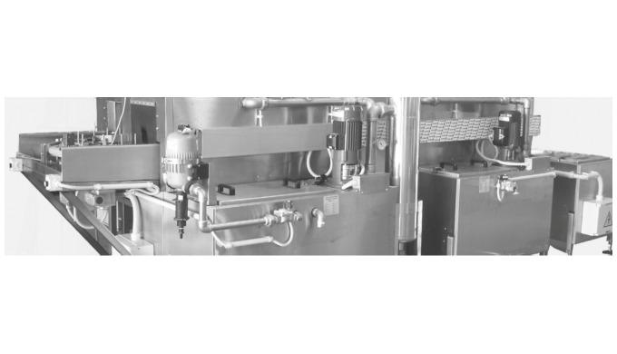 Lavado con solución Agua – Detergente para fases intermedias y final