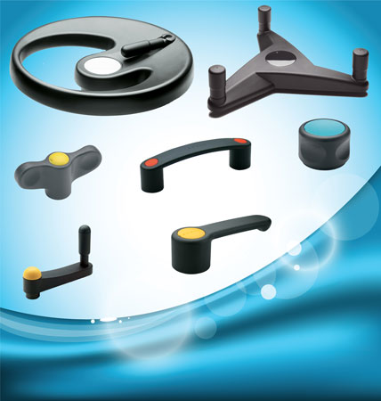The Elesa Ergostyle® range of standard machine components has been conceived for a broad spectrum of applications, typic